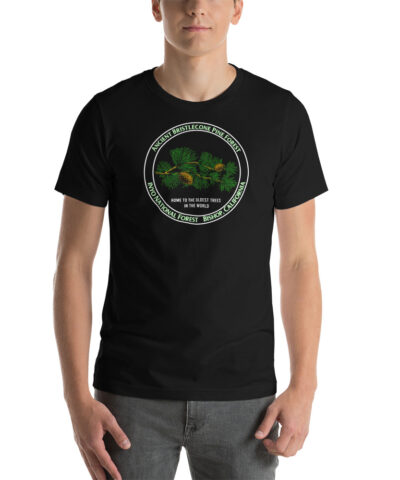 Ancient Bristlecone Forest Inyo National Forest, Bishop California Short-Sleeve Unisex T-Shirt